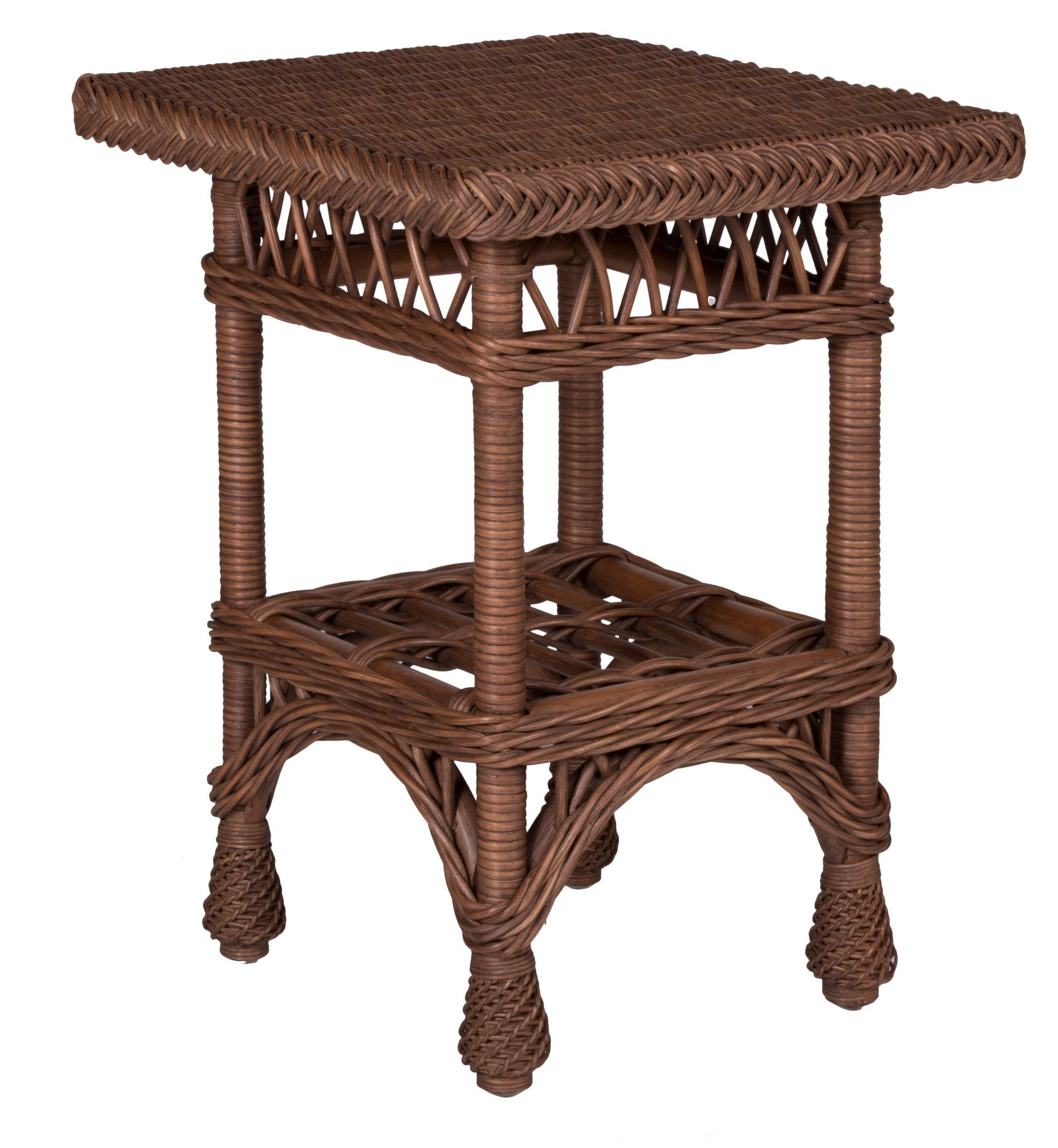 Designer Wicker & Rattan By Tribor Harbor Front End Table by Designer Wicker from Tribor End Table - Rattan Imports