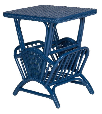 Designer Wicker & Rattan By Tribor Harbor Front Occasional Magazine Table Accessory - Rattan Imports