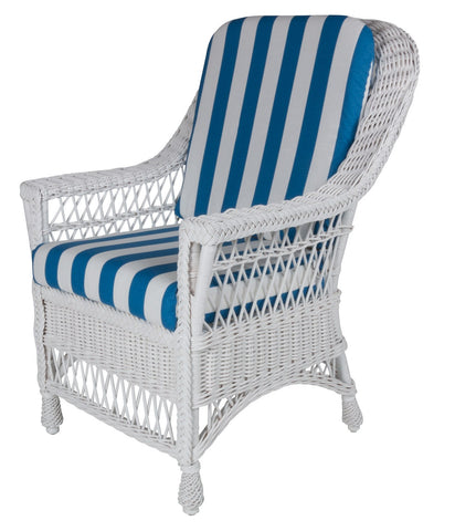 Designer Wicker & Rattan By Tribor Harbor Front Dining Arm Chair by Designer Wicker from Tribor Dining Chair - Rattan Imports