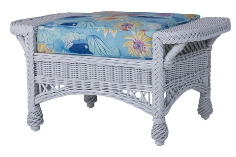 Designer Wicker & Rattan By Tribor Concord Ottoman by Designer Wicker from Tribor Ottoman - Rattan Imports