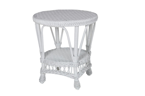 Designer Wicker & Rattan By Tribor Concord End Table End Table - Rattan Imports