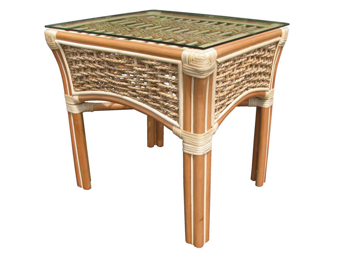 Spice Islands Islander End Table Natural - Rattan Imports