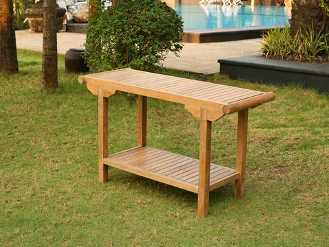 Tortuga Outdoor Tortuga Outdoor Jakarta Teak Console Table Coffee Table - Rattan Imports