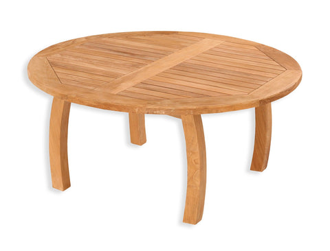 "Tortuga Outdoor Tortuga Outdoor Jakarta Teak Round 39.5"" Coffee Table Coffee Table - Rattan Imports"