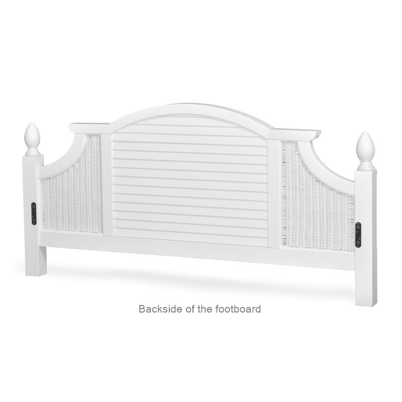 Sea Winds Trading Sea Winds Trading Key West Shutter King Bed Bed - Rattan Imports