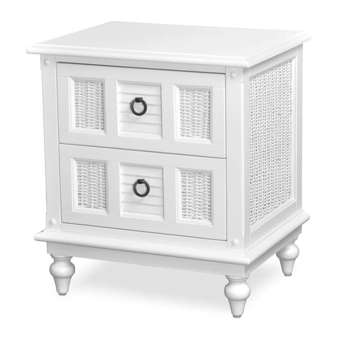 Sea Winds Trading Sea Winds Trading Key West  2 Drawer Nightstand Nightstand - Rattan Imports