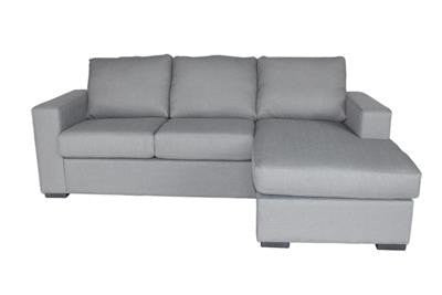 Thy-HOM - Colton Linen 2-Pieces Sectional Sofa in Grey -  - Thy-HOM Indoor Sofa Collection