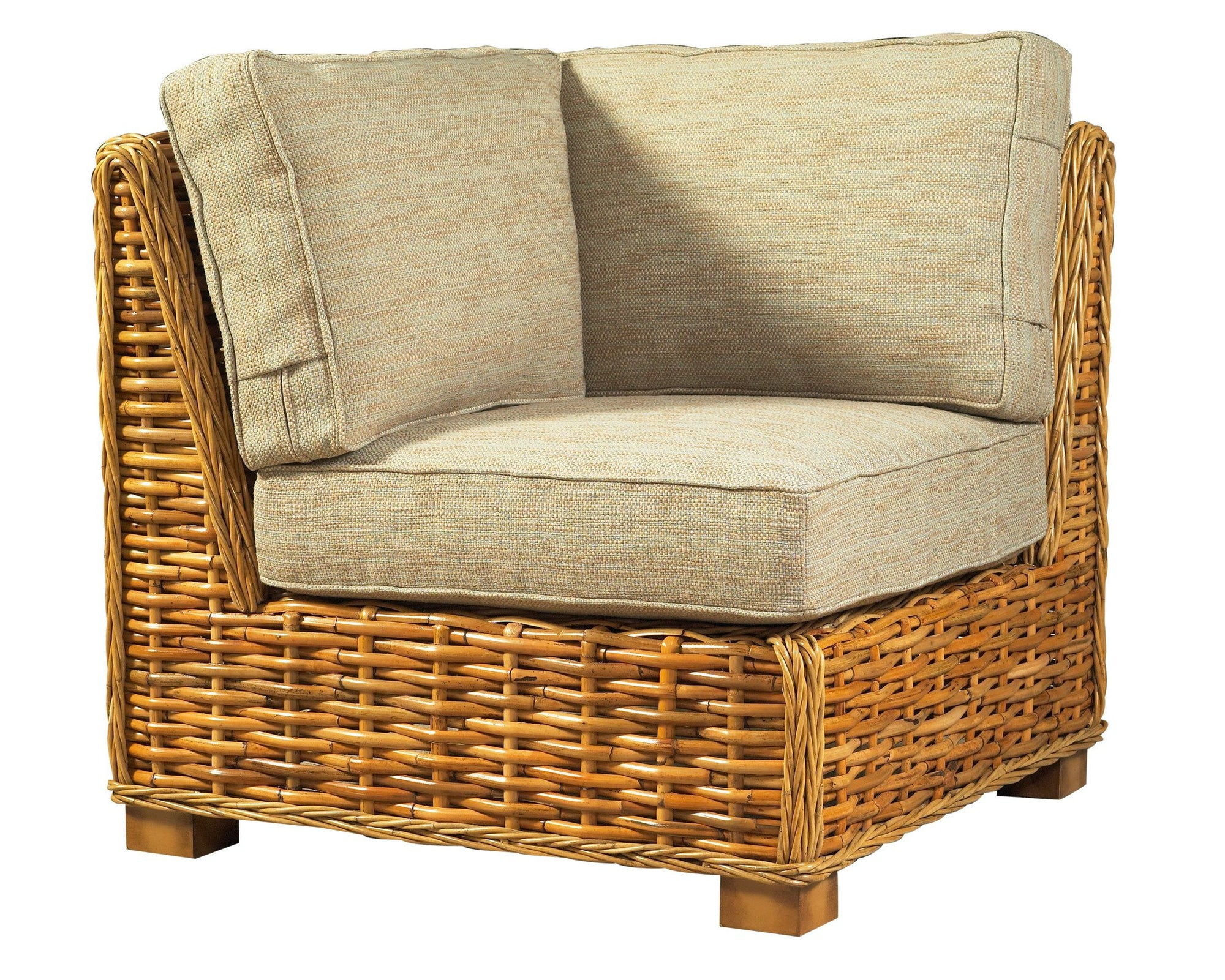 Designer Wicker & Rattan By Tribor Freeport Sectional Corner by Designer Wicker from Tribor Sectional - Rattan Imports