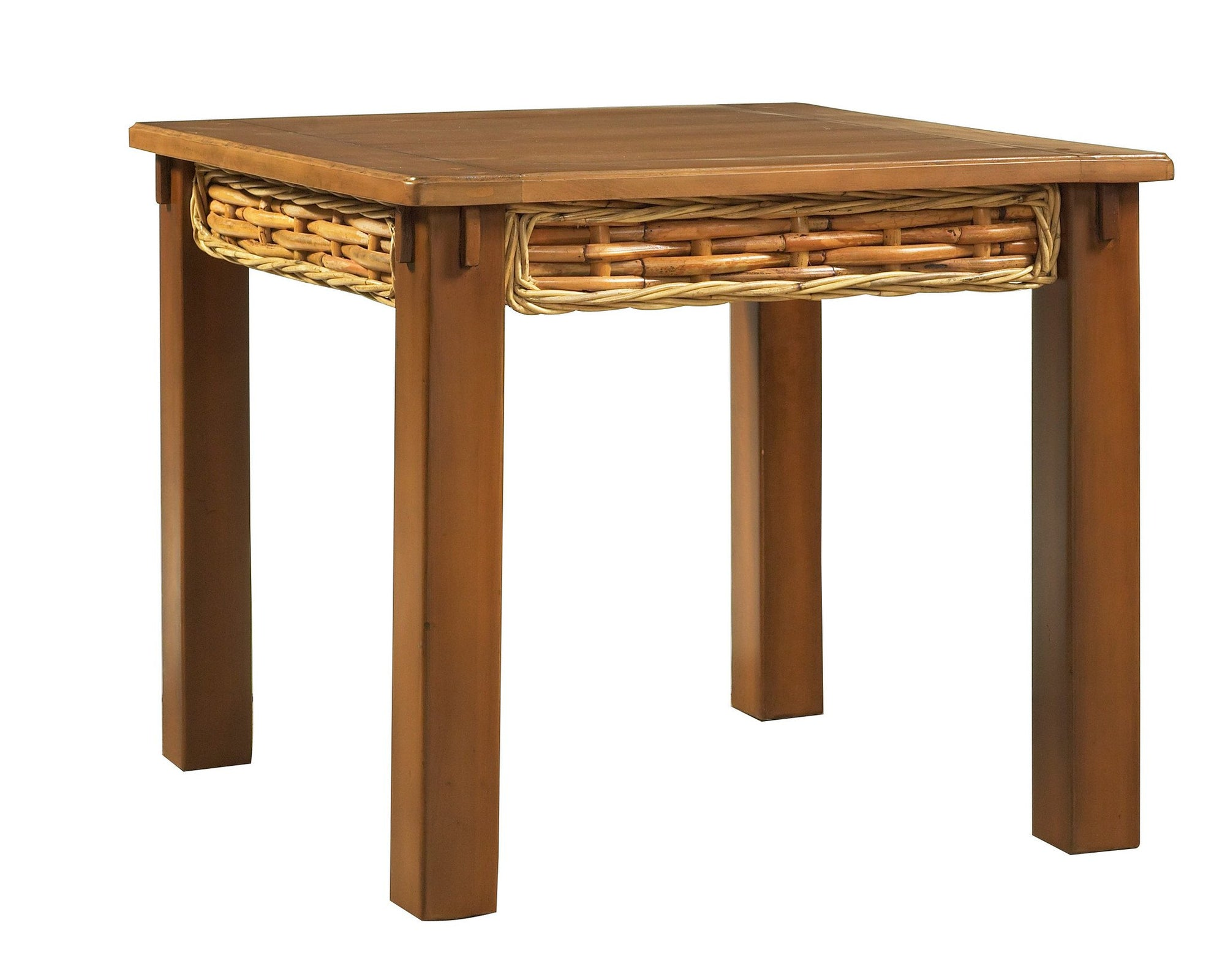 Designer Wicker & Rattan By Tribor Freeport Rectangular End Table by Designer Wicker from Tribor End Table - Rattan Imports