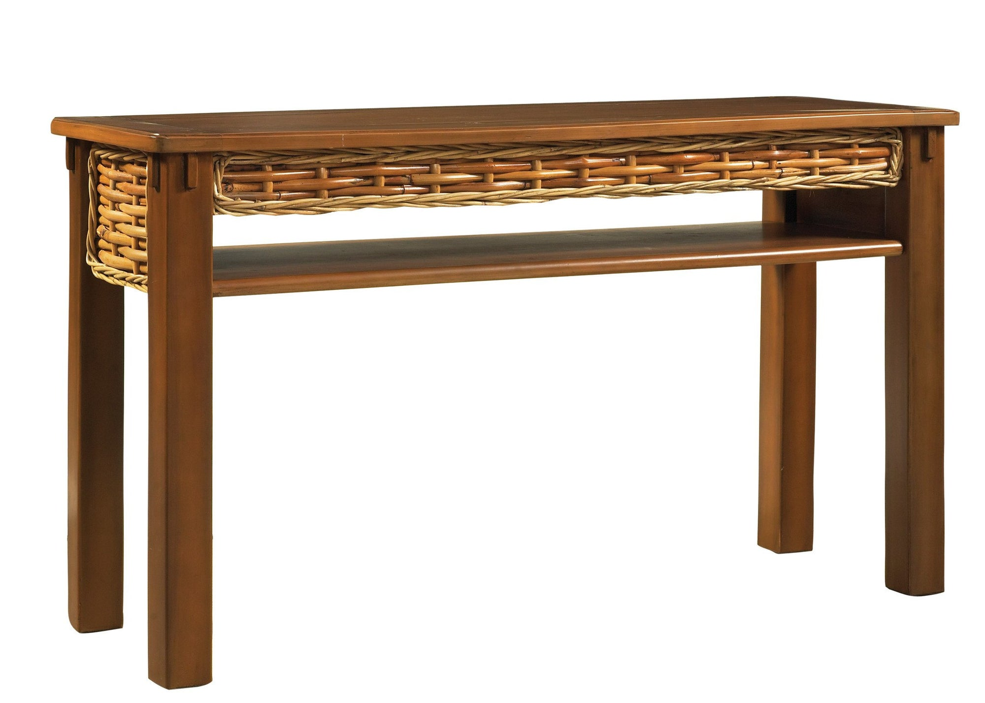 Designer Wicker & Rattan By Tribor Freeport Console Table by Designer Wicker from Tribor Console Table - Rattan Imports