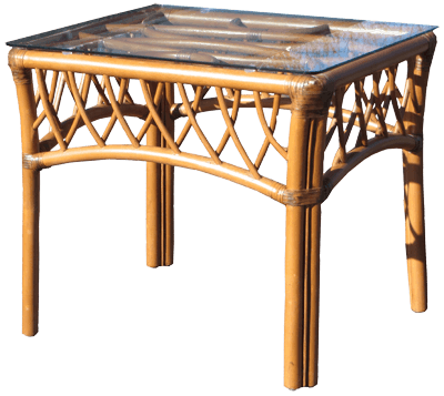 Spice Islands Spice Islands Montego Bay End Table Cinnamon Coffee Table - Rattan Imports