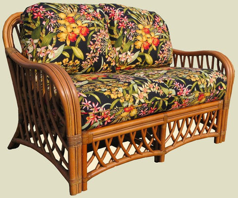 Spice Islands Spice Islands Montego Bay Loveseat Loveseat - Rattan Imports