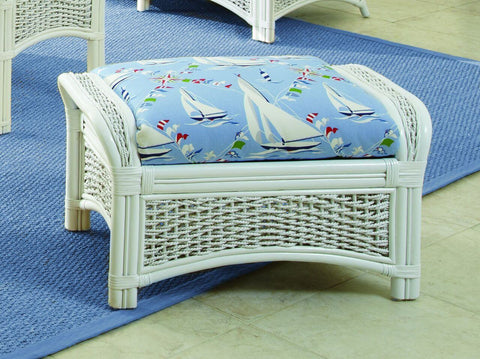Spice Islands - REGATTA  OTTOMAN WHITE -  -
