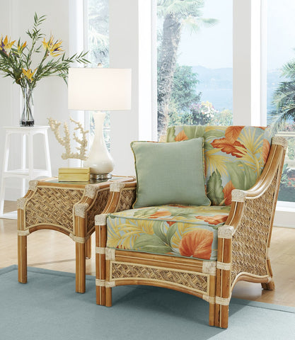 Spice Islands Spice Islands Mauna Loa Arm Chair Natural Chair - Rattan Imports