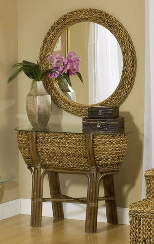 Sea Winds Trading - Maui Bowl Console Table -  -  - 1