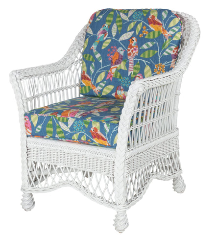 Designer Wicker & Rattan By Tribor Naples Dining Arm Chair by Designer Wicker from Tribor Dining Chair - Rattan Imports