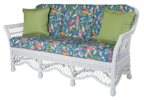 Designer Wicker & Rattan By Tribor Naples Sofa by Designer Wicker from Tribor Sofa - Rattan Imports