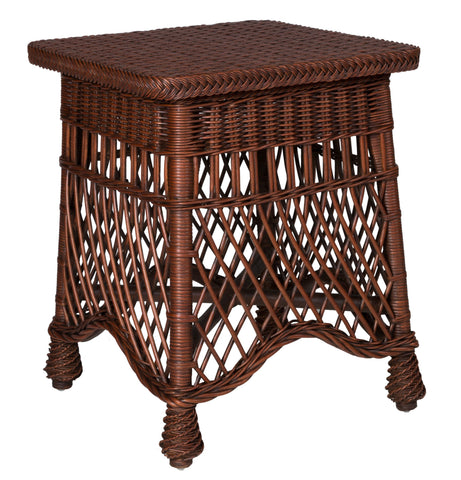 Designer Wicker & Rattan By Tribor - Naples End Table -  -  - 1