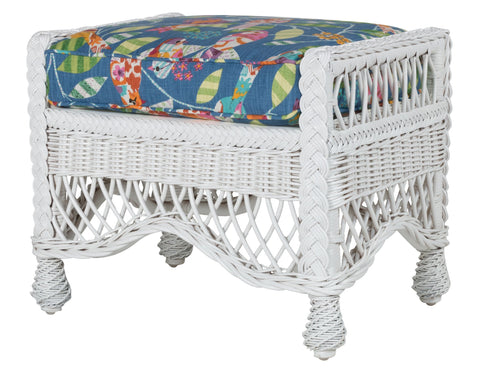 Designer Wicker & Rattan By Tribor - Naples Ottoman -  -  - 1