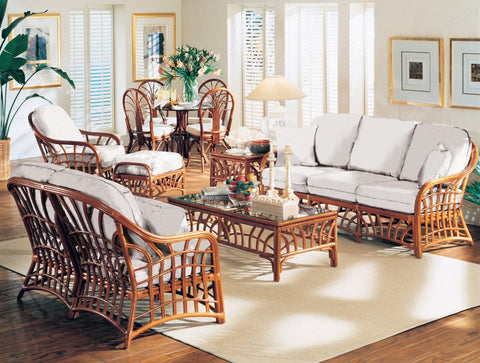 South Sea Rattan New Kauai 6 Piece Seating Set