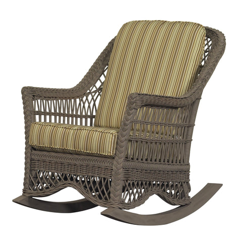 Designer Wicker & Rattan By Tribor Naples Rocker by Designer Wicker from Tribor Rocking Chair - Rattan Imports
