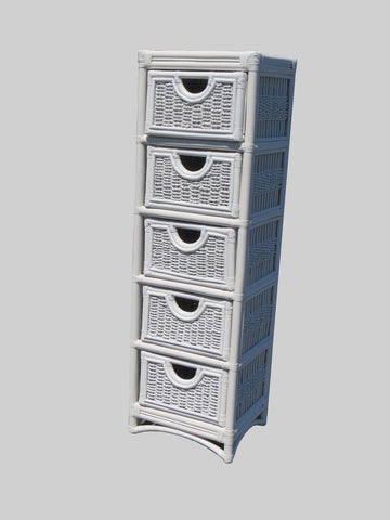 Spice Islands - REGATTA 5 DRAWER UNIT WHITE -  -