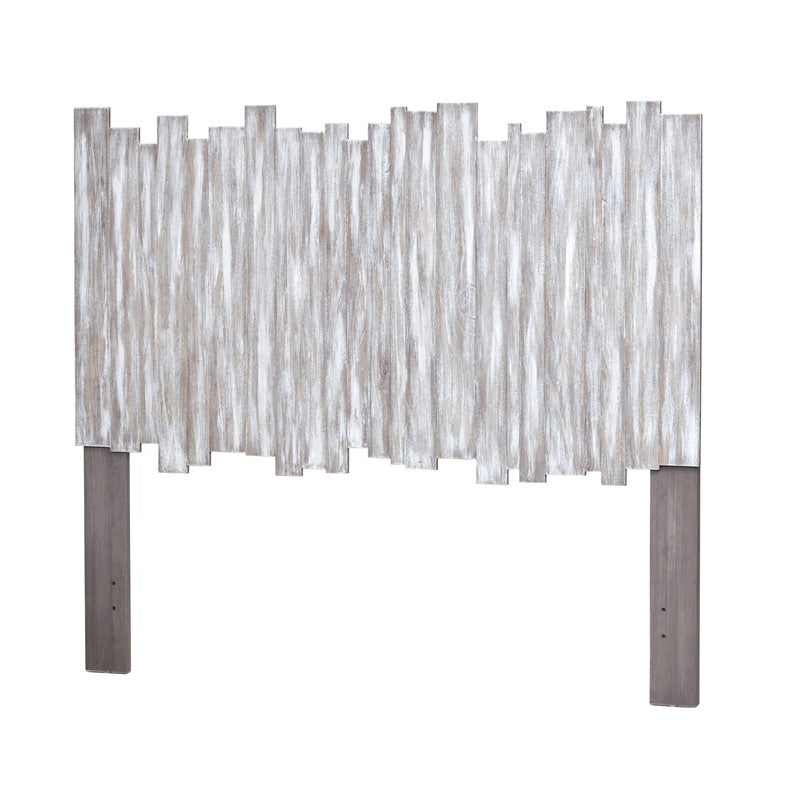 Sea Winds Trading Sea Winds Trading Island Breeze Picket Fence Queen Headboard B78240 Headboard - Rattan Imports