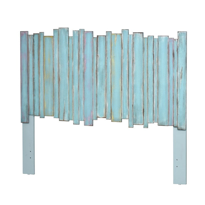 Sea Winds Trading Sea Winds Trading Island Breeze Picket Fence Twin Headboard B78239 Headboard - Rattan Imports