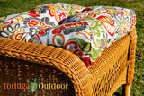 "Tortuga Outdoor Portside Chair Cushions ~ 19"" X 19"" X 4.5""-Tortuga Outdoor-Rattan Imports"