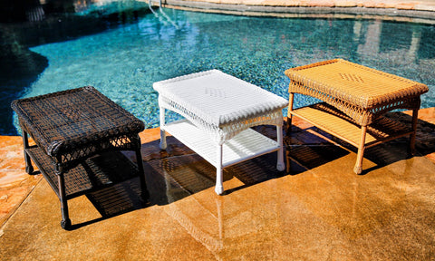 Tortuga Outdoor Portside Coffee Table-Tortuga Outdoor-Rattan Imports