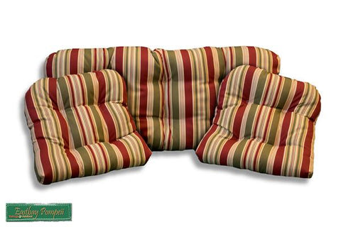 Tortuga Outdoor Tortuga Outdoor Portside 3 Piece Cushion Set Cushion Set - Rattan Imports
