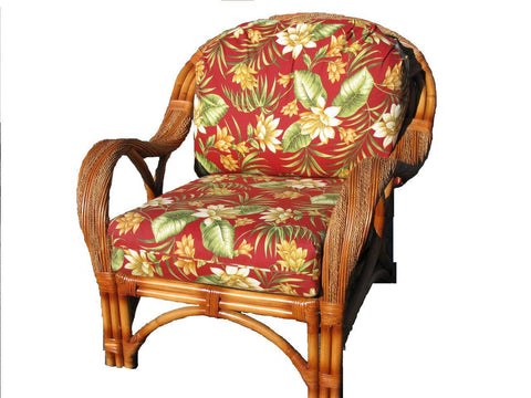 Spice Islands Spice Islands Caneel Bay Arm Chair Cinnamon Chair - Rattan Imports