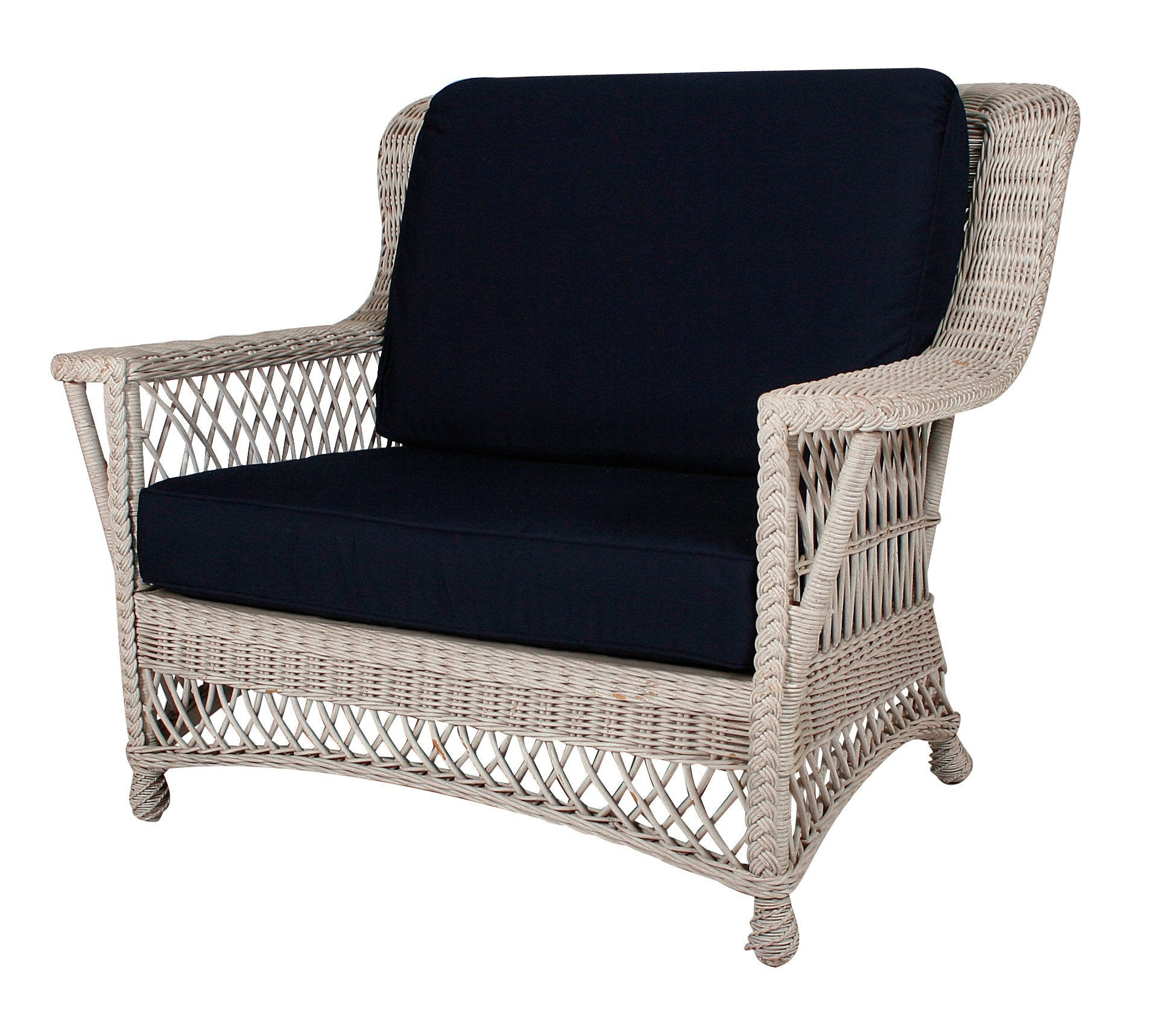 Designer Wicker & Rattan By Tribor Rockport Chair and a Half by Designer Wicker from Tribor Chair - Rattan Imports