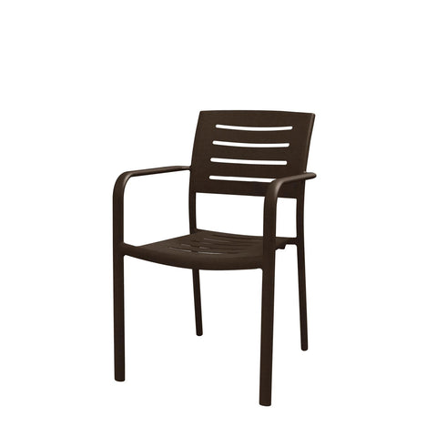 Adele Dining Arm Chair-Rattan Imports-Rattan Imports