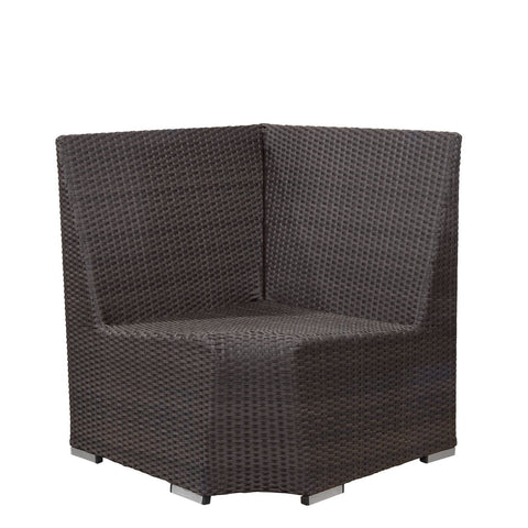 Source Outdoor Boca Dining Corner (Low Back) Dining Booth - Rattan Imports