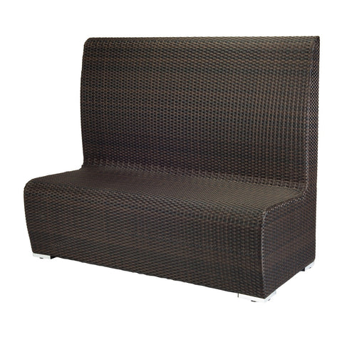Boca Dining Booth (High Back) - Rattan Imports
