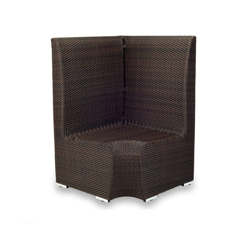 Source Furniture Boca Dining Corner (High Back) Dining Booth - Rattan Imports