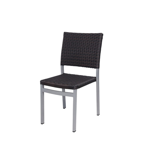 Source Outdoor Fiji Dining Side Chair Dining Chair - Rattan Imports
