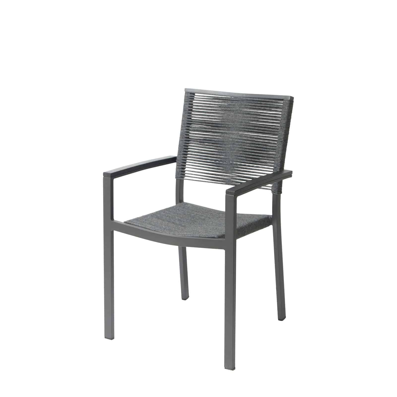 Source Furniture Source Furniture Fiji Rope Dining Arm Chair Dining Arm Chair - Rattan Imports