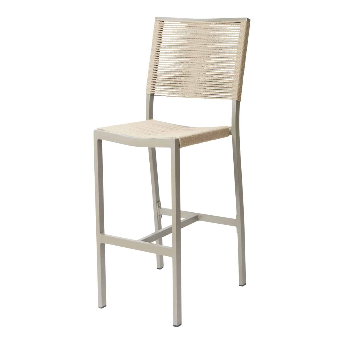 Source Furniture Source Furniture Fiji Rope Bar Side Chair Bar Side Chair - Rattan Imports