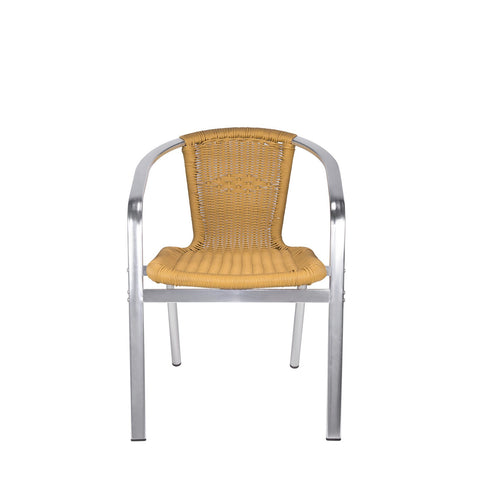 Source Outdoor Bermuda Dining Arm Chair Dining Chair - Rattan Imports