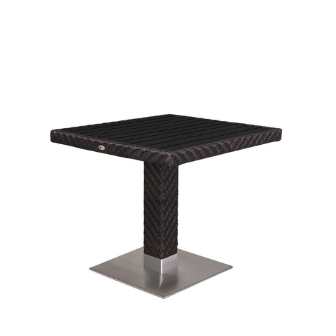 "Source Outdoor - Arizona Dining Table 32"" x 32"" - Black - Arizona - 1"