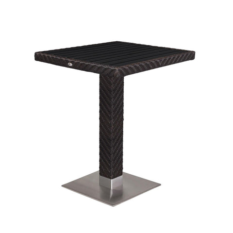 "Source Outdoor Arizona Bar Table 32"" x 32"" Bar Table - Rattan Imports"