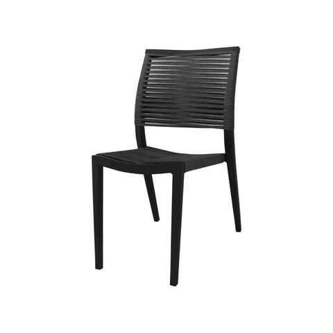 Source Furniture Source Furniture Chloe Rope Dining Side Chair Dining Side Chair - Rattan Imports
