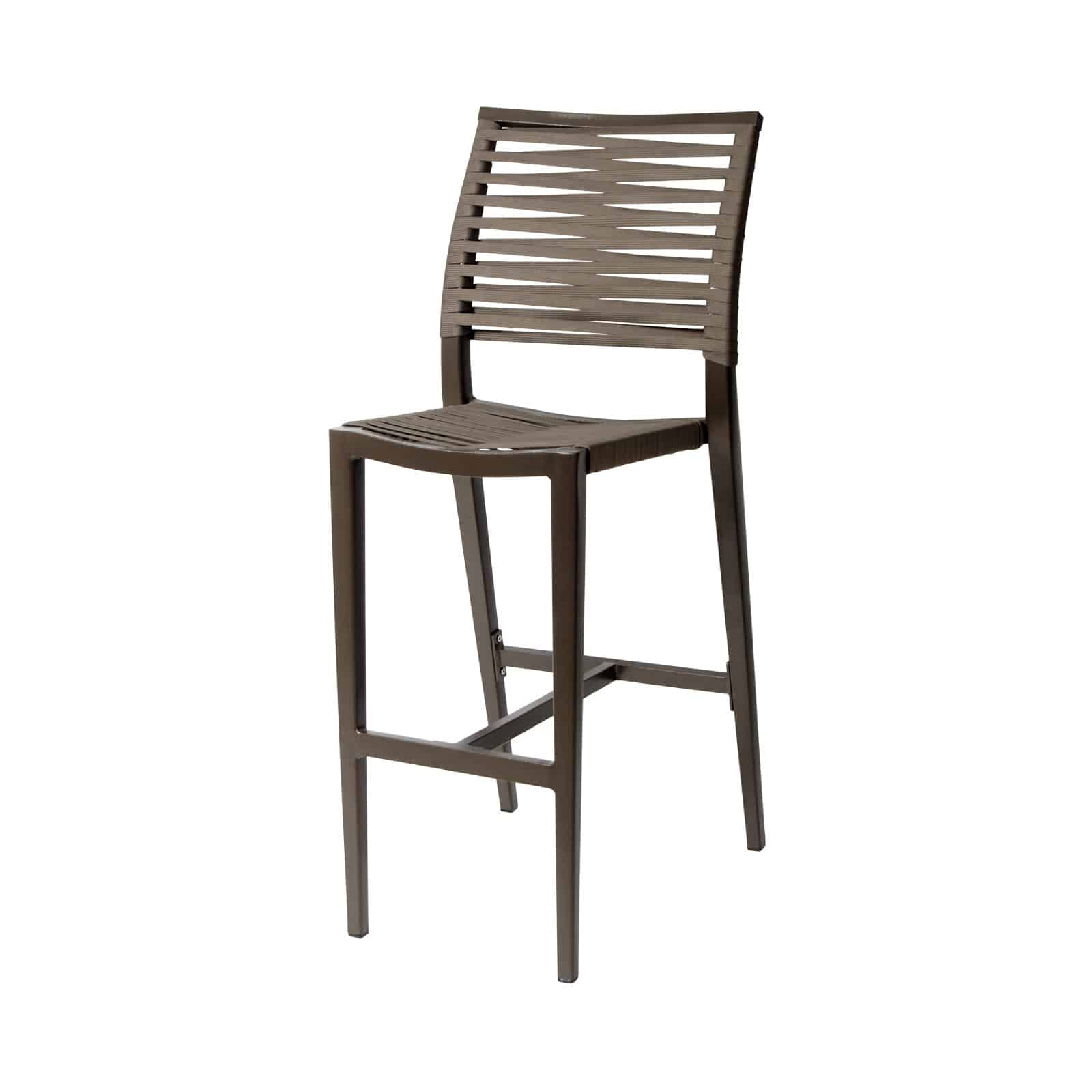 Source Furniture Source Furniture Chloe Rope Bar Side Chair Bar Stool - Rattan Imports