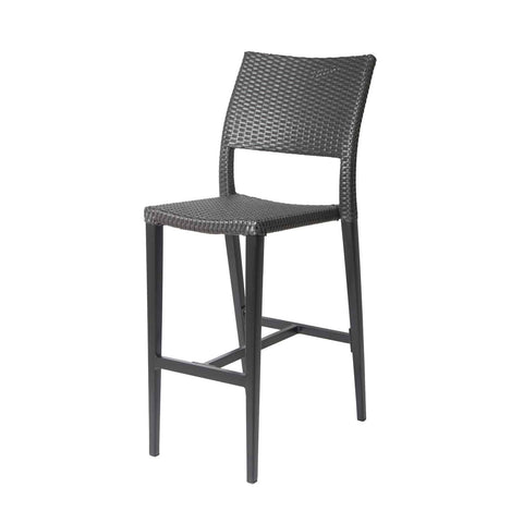 Source Furniture Source Furniture Chloe Mink Bar Side Chair Bar Side Chair - Rattan Imports