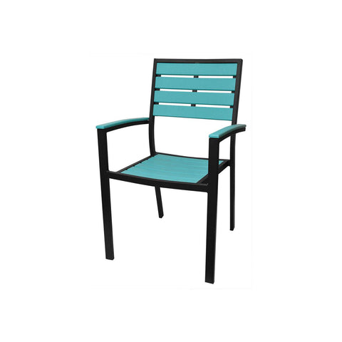 Source Furniture Source Furniture Napa Easton Dining Arm Chair Dining Arm Chair - Rattan Imports