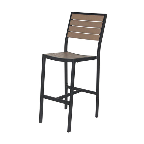 Source Furniture Napa Bar Side Chair Bar Stool - Rattan Imports