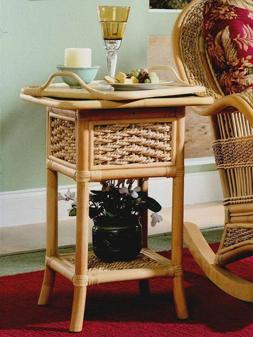 Spice Islands Spice Island Serving Table Natural Accessory - Rattan Imports