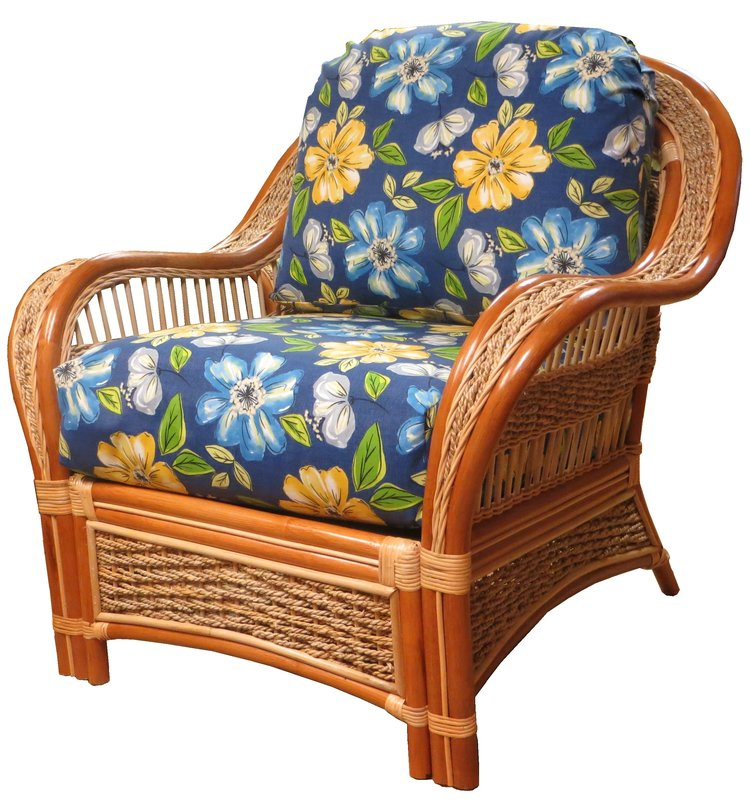 Spice Islands Islander Arm Chair Natural - Rattan Imports